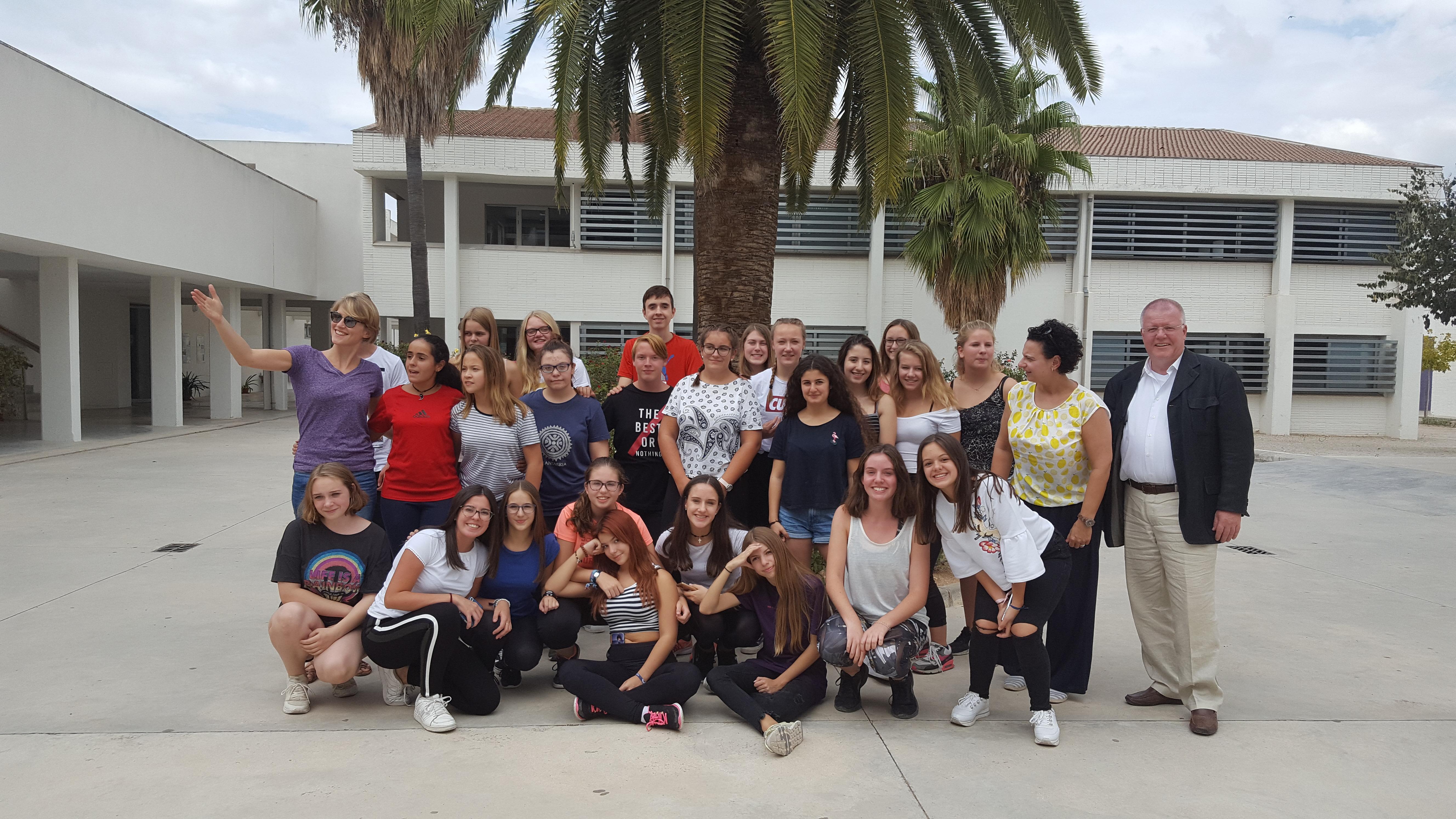 Die Gesamtschule Verl zu Gast in Andalusien