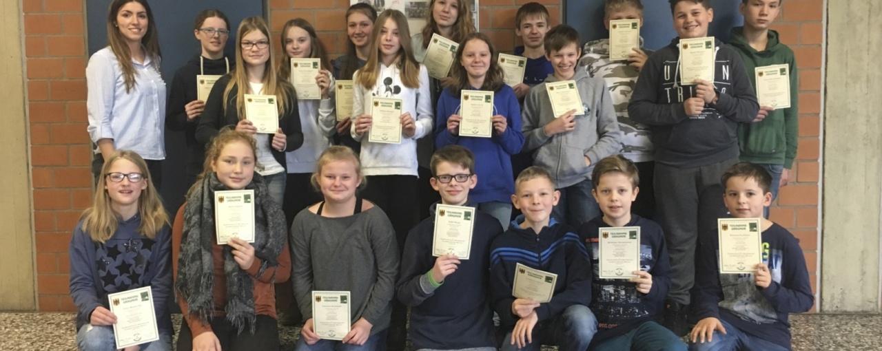 Gesamtschule nimmt erstmalig am Bolyai-Wettbewerb teil