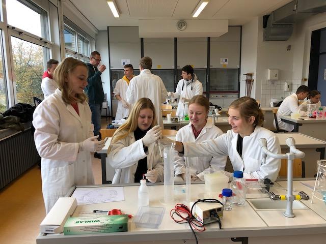 """""""Der DNA auf der Spur"""" - Workshop DNA-Analyse und Gelelektrophorese"""